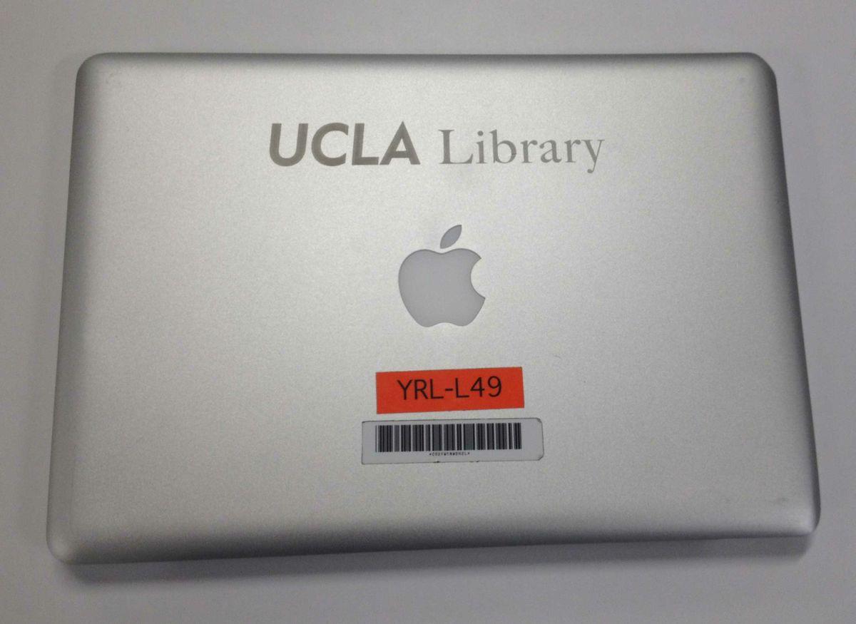 Laptop case markings