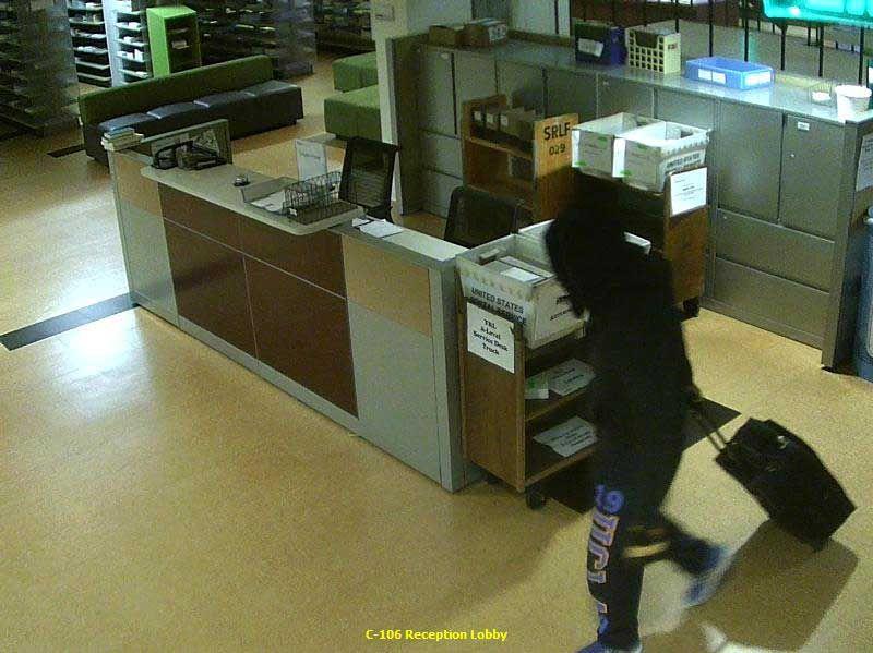 Suspect in YRL burglary