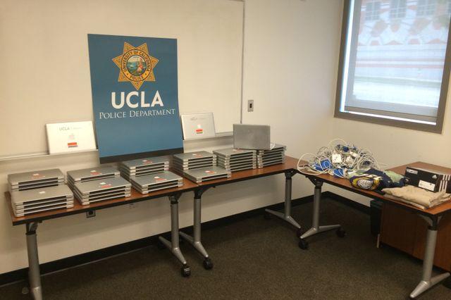 Stolen laptops