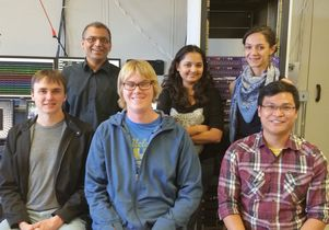 Mayank Mehta and his UCLA research team