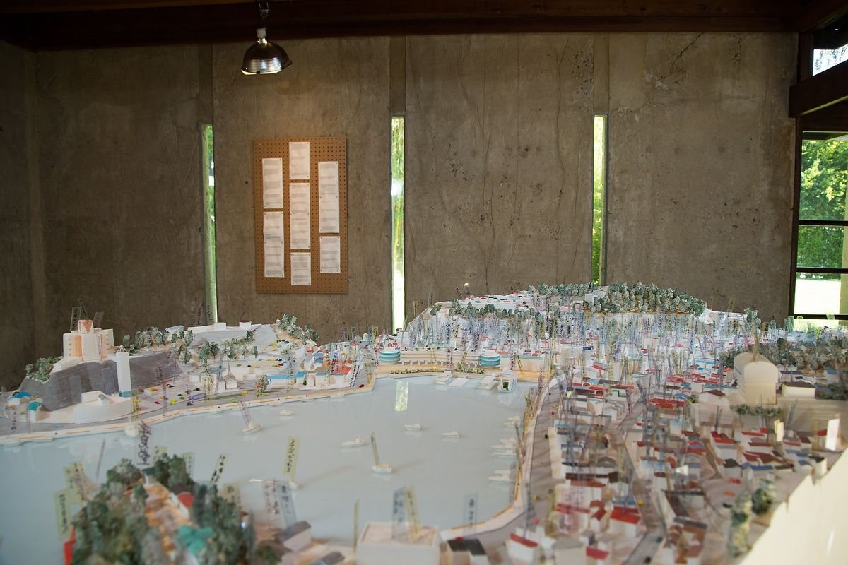 Groundswell architecture exhibit