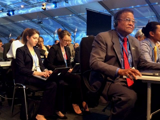 UCLA student at U.N. COP20 climate conference