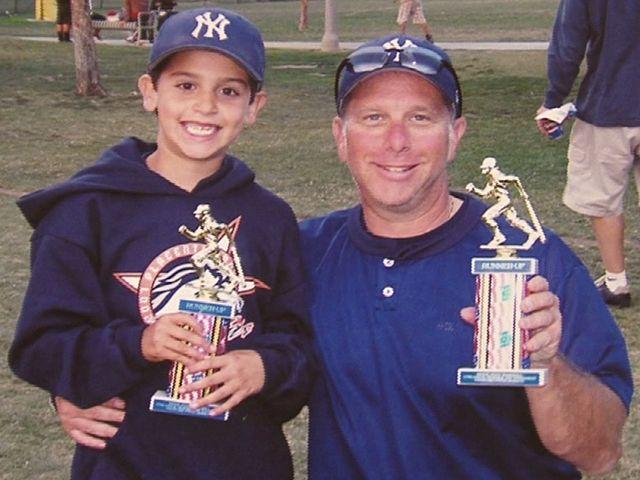 David Alpern and son