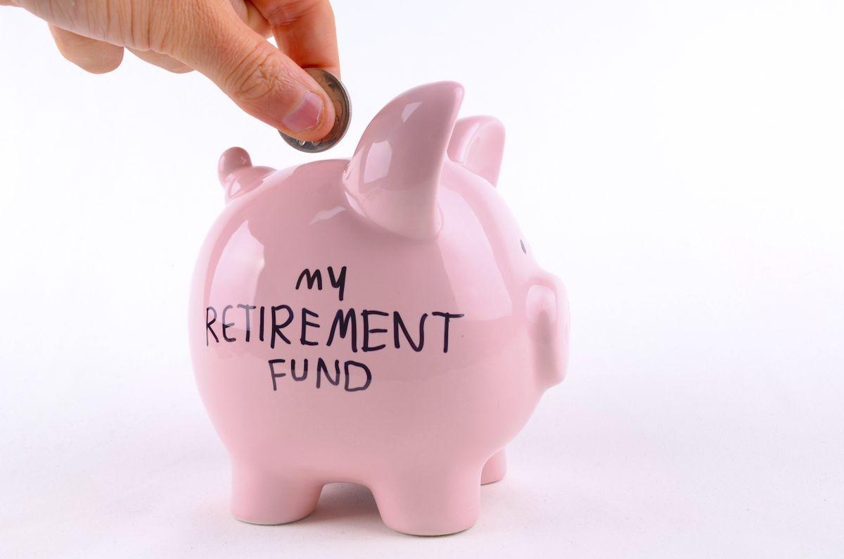 Piggy bank retirement