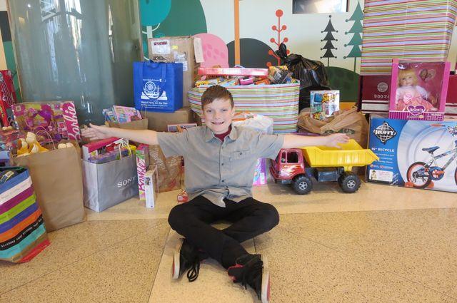 Casey Abrams, age 11