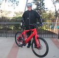 Chef electrifies his two-wheeled commute