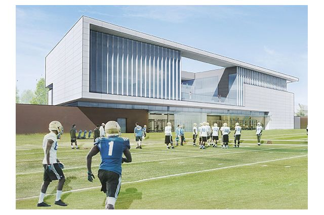 Proposed UCLA football performance center