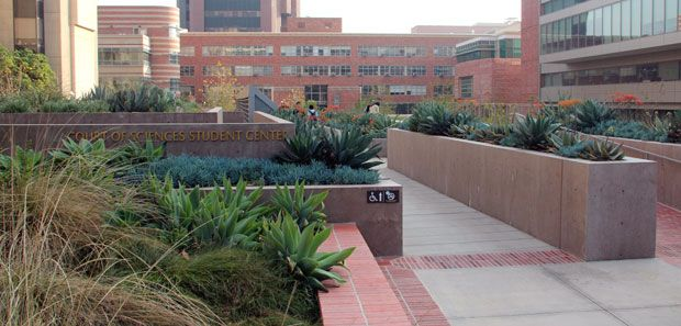 UCLA's Court of Sciences Student Center