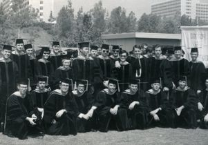 School of Dentistry first graduating class of 1968