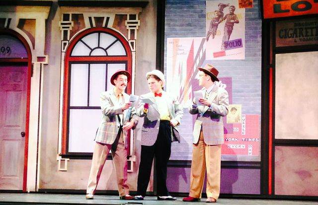 "UCLA students in ""Guys and Dolls"""