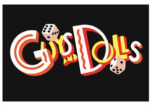 "Logo for ""Guys and Dolls"""