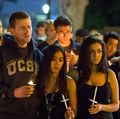 Student gathering at UCLA honors victims of Isla Vista rampage
