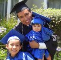 Graduation a family affair for UCLA student parents and their children