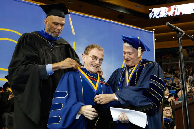 Randy Schekman and UCLA Medal