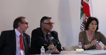 Carlos Sada, David Hayes-Bautista and Patricia Gándara