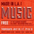 'Made in L.A. Music' starts tonight at the Hammer