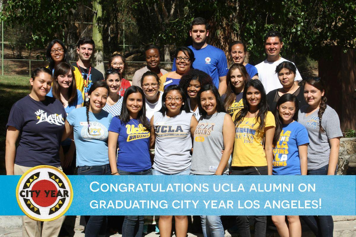 City Year L.A.'s UCLA members