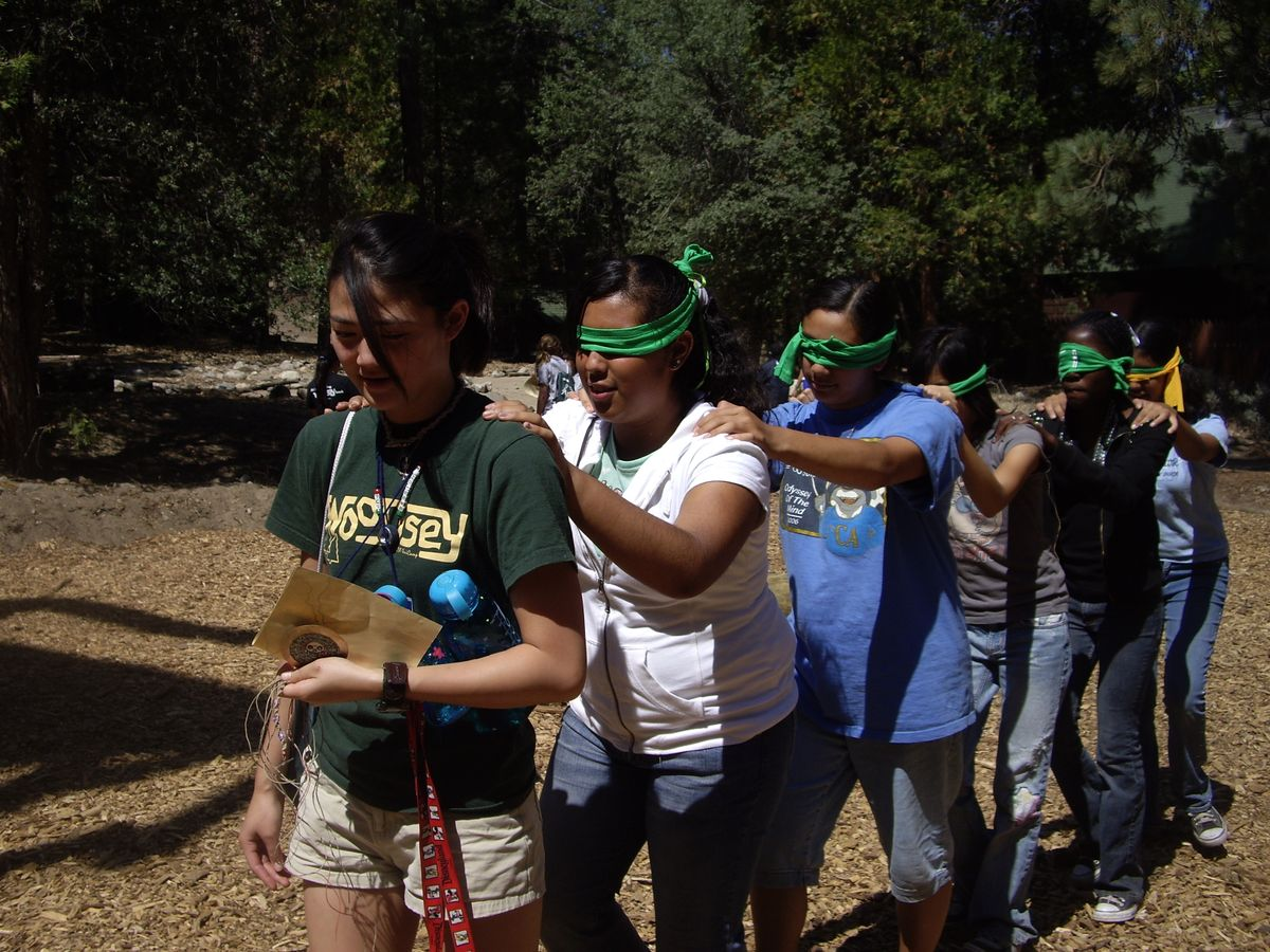 UCLA UniCamp Trust Walk