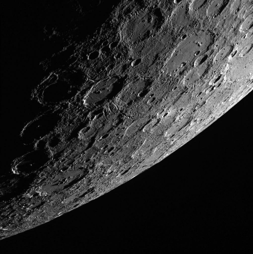 Mercury, as seen by NASA's MESSENGER spacecraft