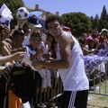 Loyal soccer fans brave the heat to see Real Madrid stars at UCLA
