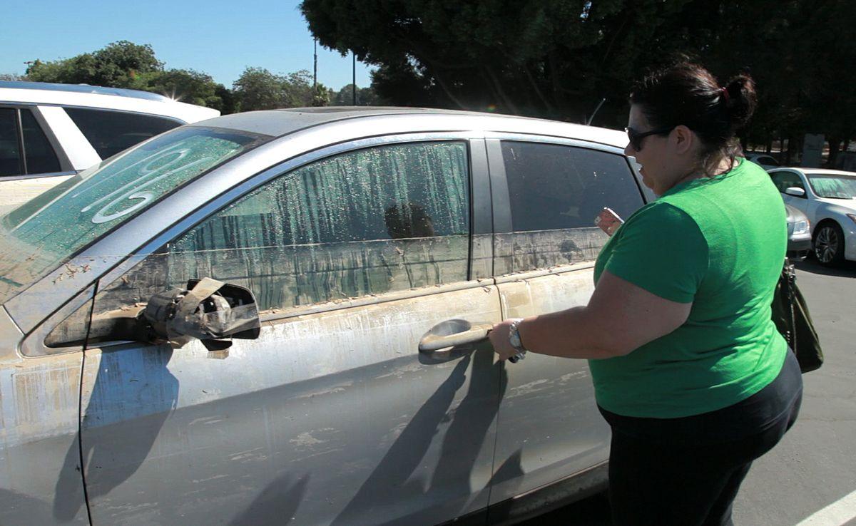 Amanda Adams gets her car back