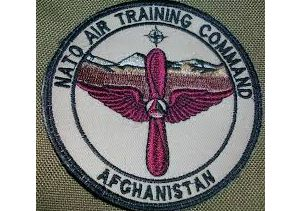 Insignia of the National Air Training Command in Afghanistan