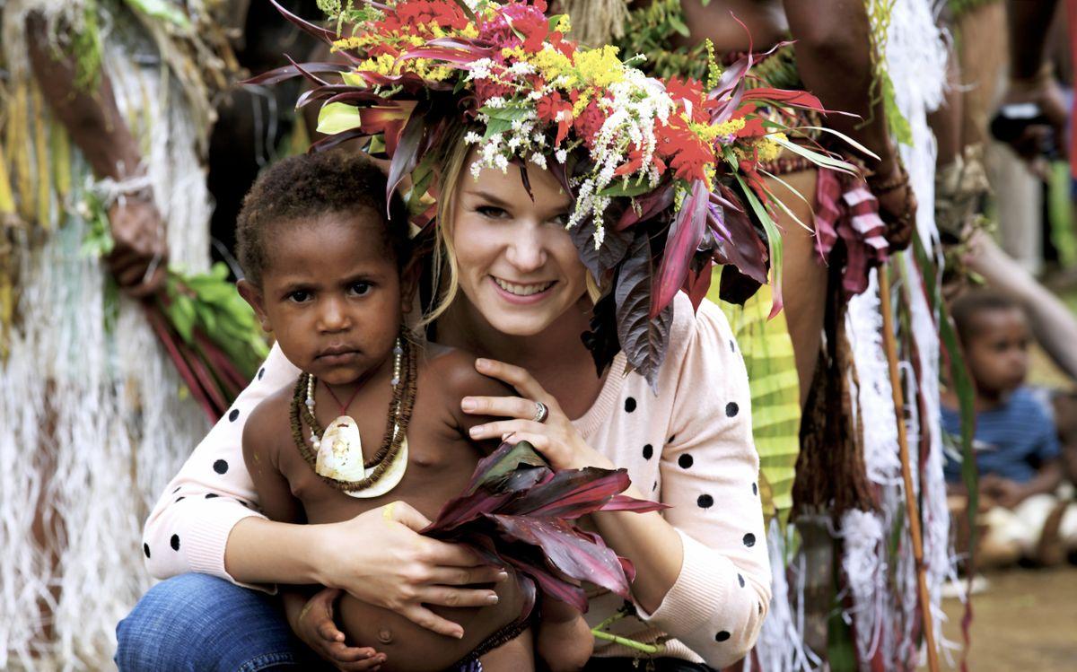 Snejana Daily in Papua New Guinea