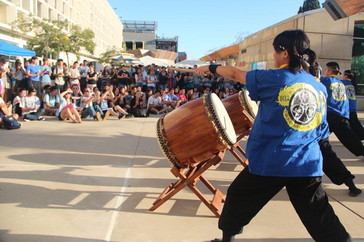 Kyodo Taiko drummers