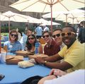 UCLA staff take a well-earned break at the staff picnic