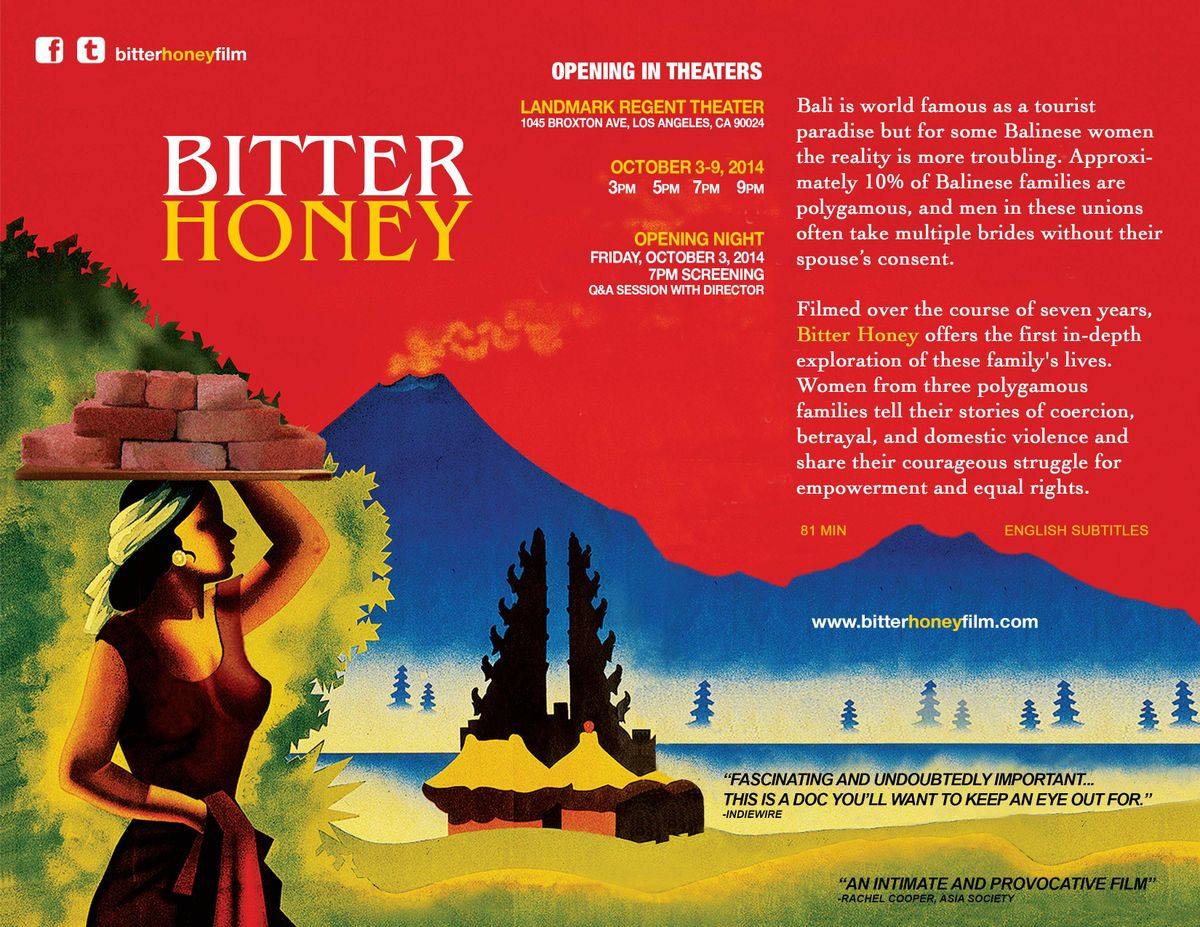 """Bitter Honey"" Flyer"