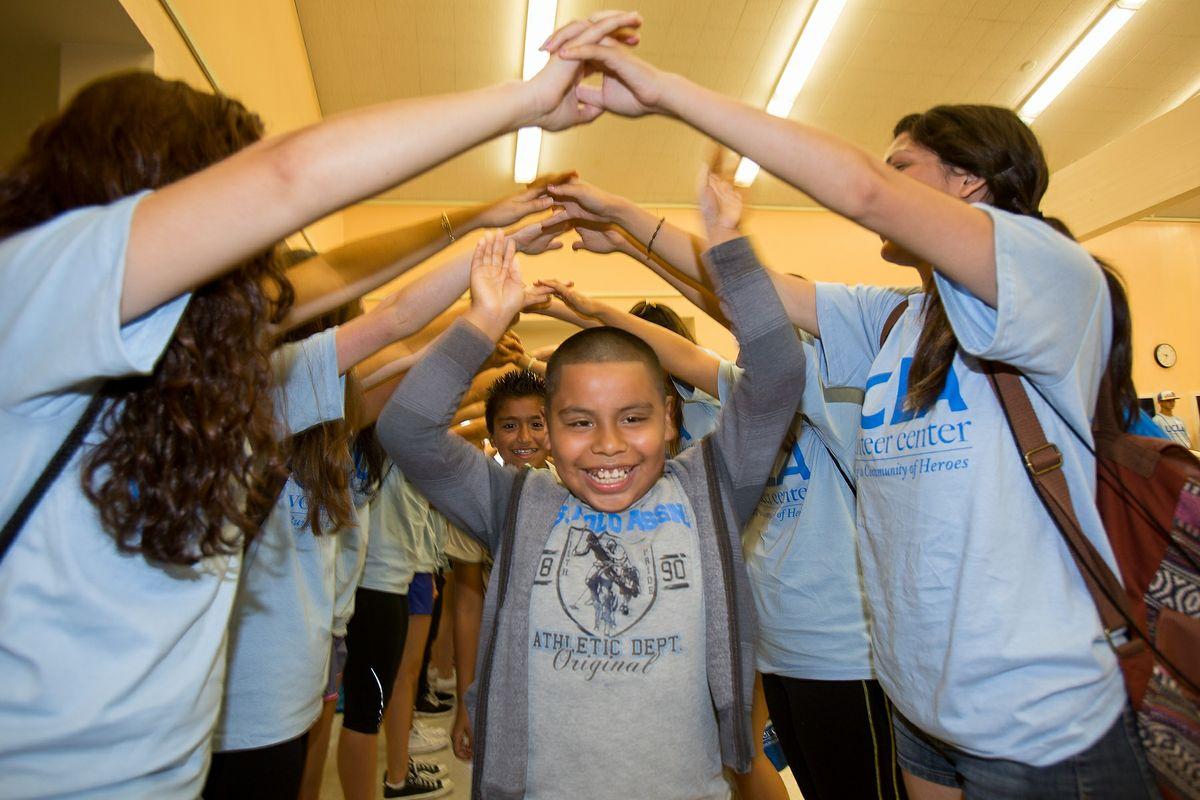 Volunteer Day 2014 LA Elementary School