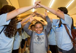 Click to open the large image: Volunteer Day 2014 LA Elementary School