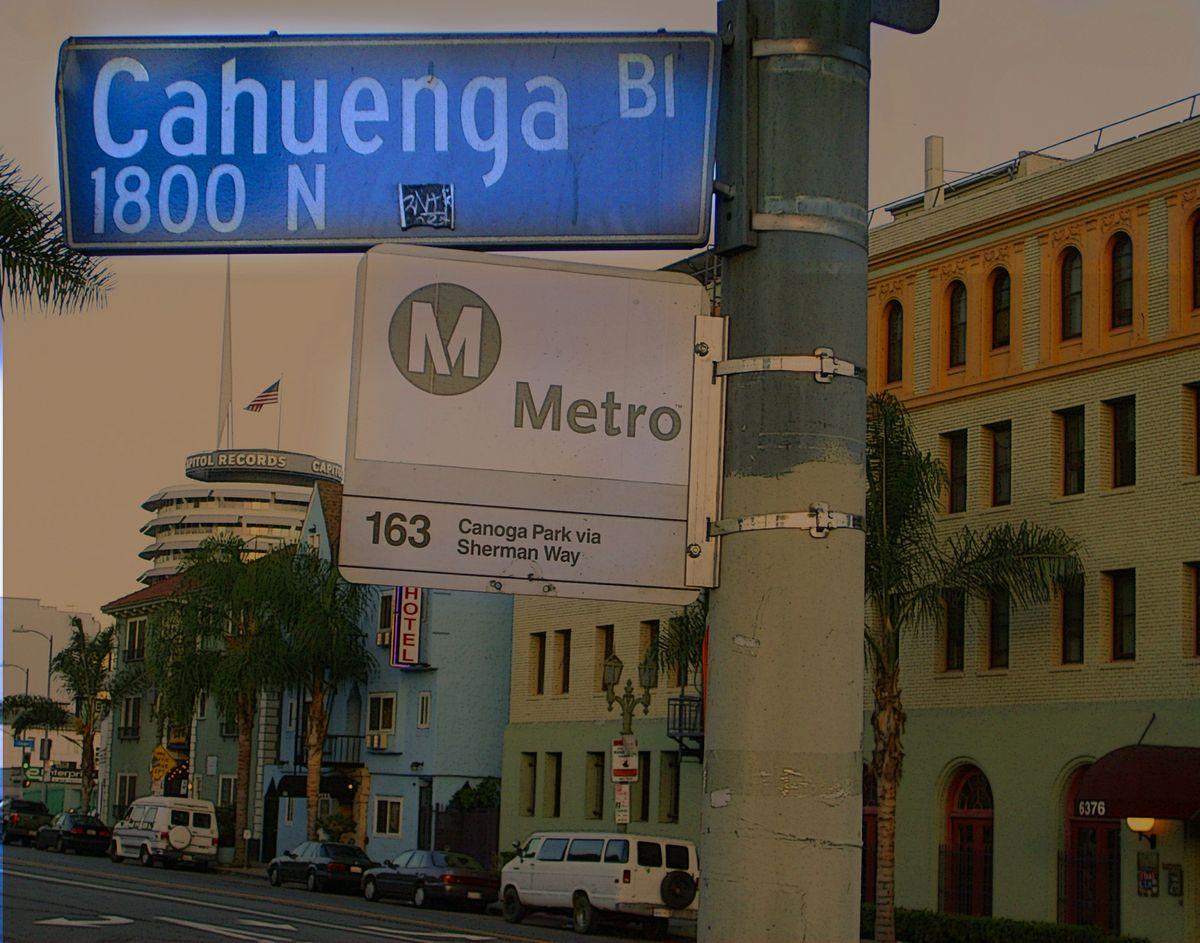 Cahuenga sign
