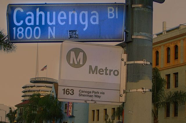 Cahuenga sign