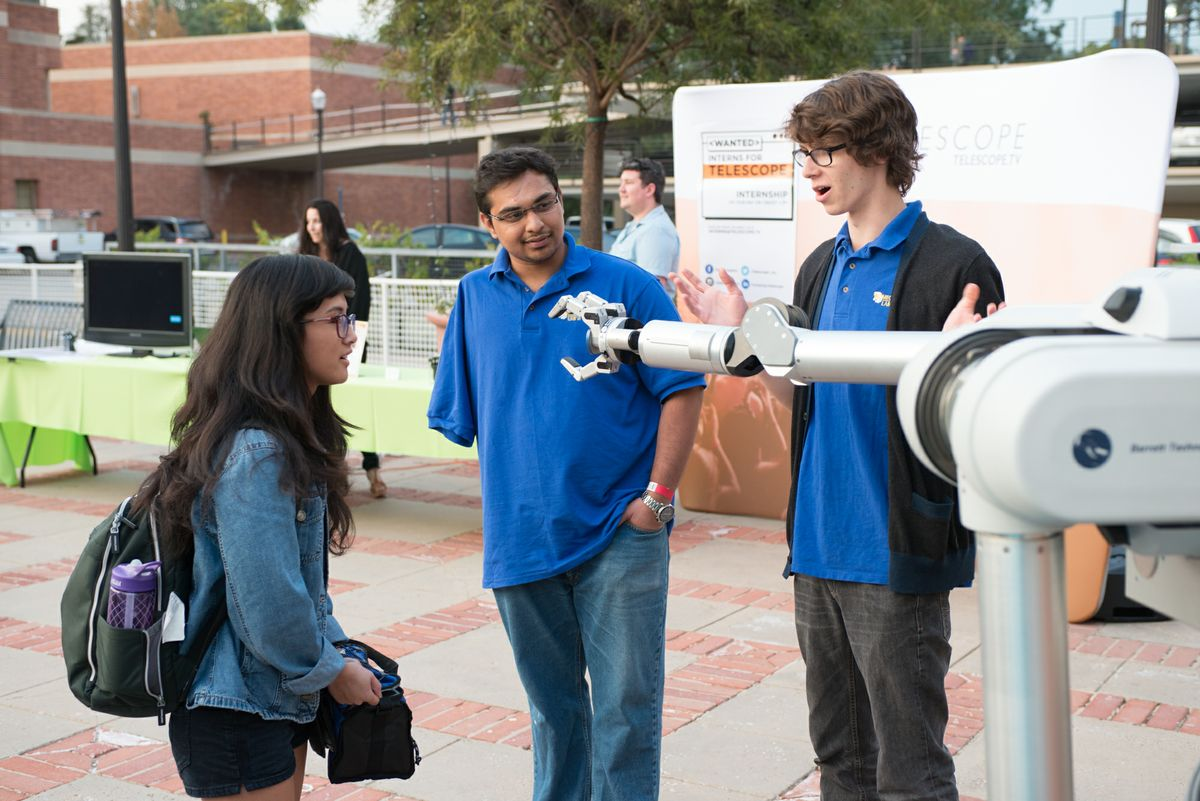 UCLA students with the UCLA Biomechatronics Lab