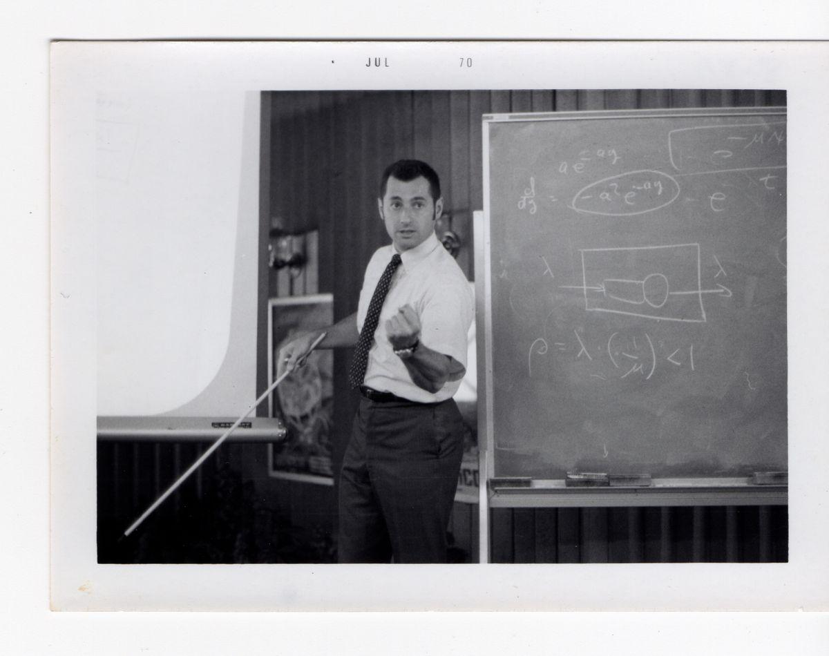 Leonard Kleinrock in 1970