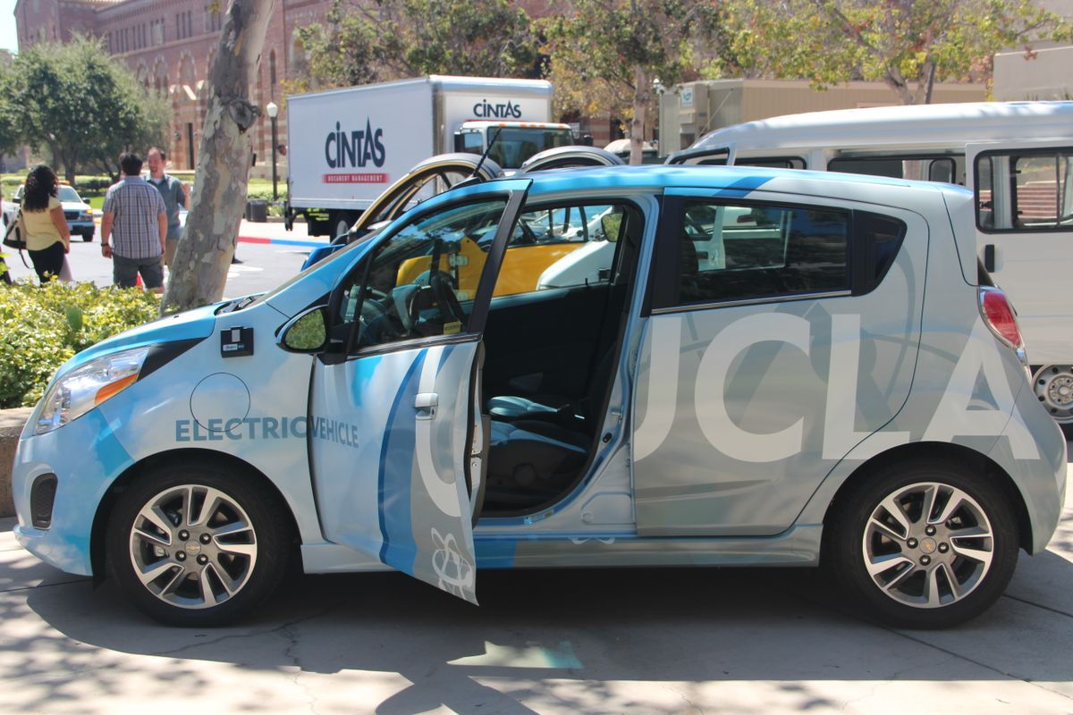 UCLA alternative fuel car
