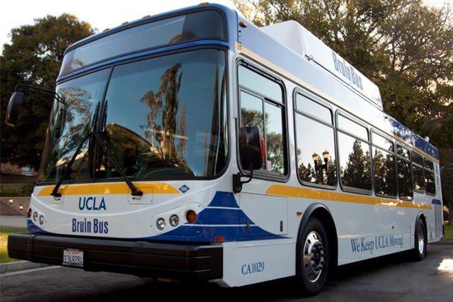UCLA Transportation Bruin Bus