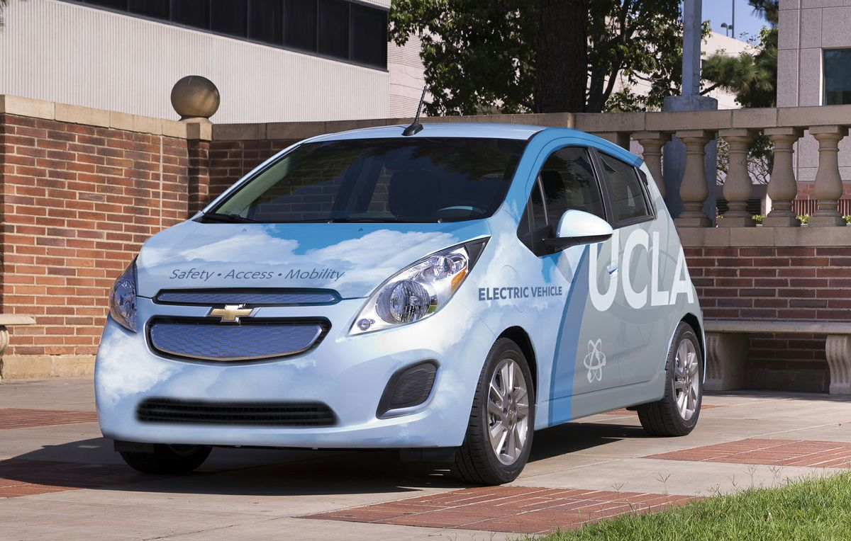 UCLA Commute car