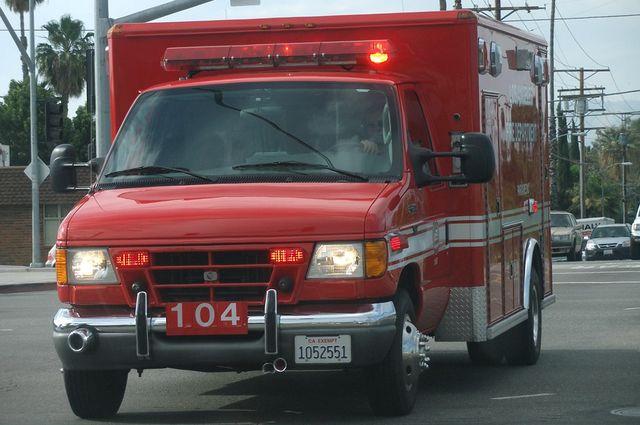 LAFD ambulance