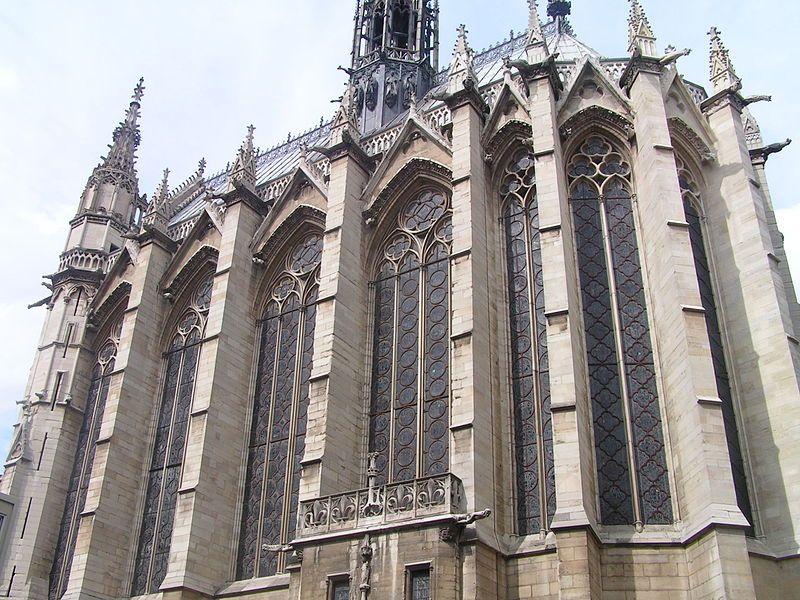 Exterior of the Sainte-Chapelle