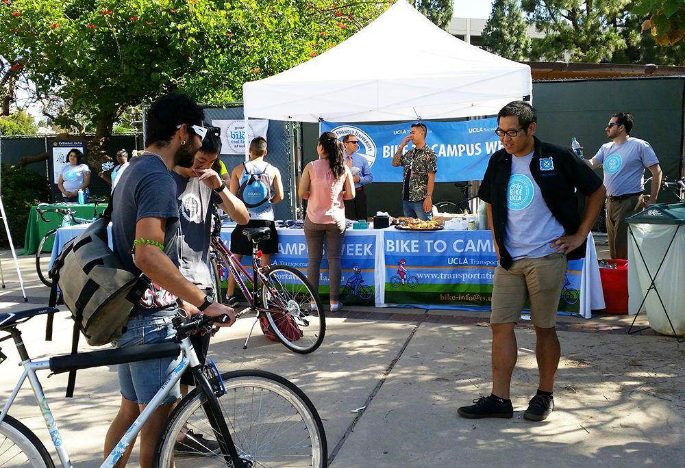 Bike to Campus Week 2014