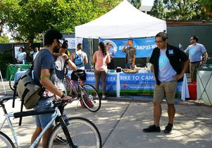 Click to open the large image: Bike to Campus Week 2014