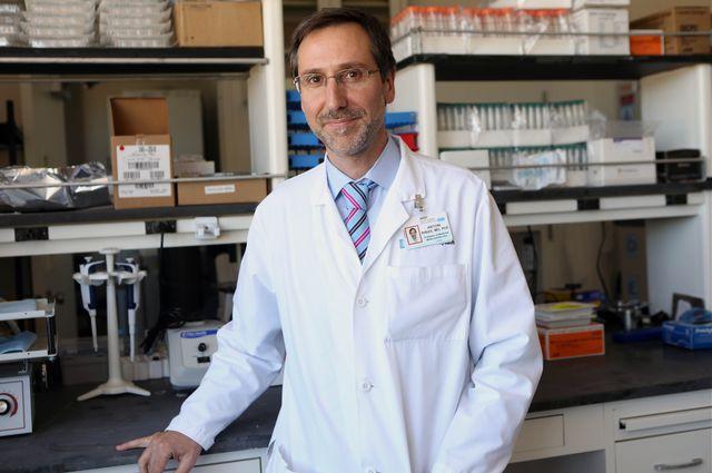Antoni Ribas in lab