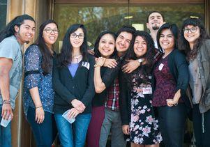 UCLA student researchers