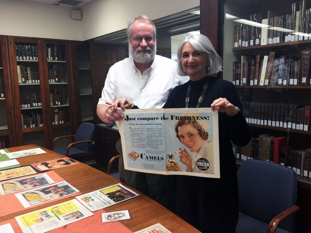 Linda Sarna and Russell Johnson