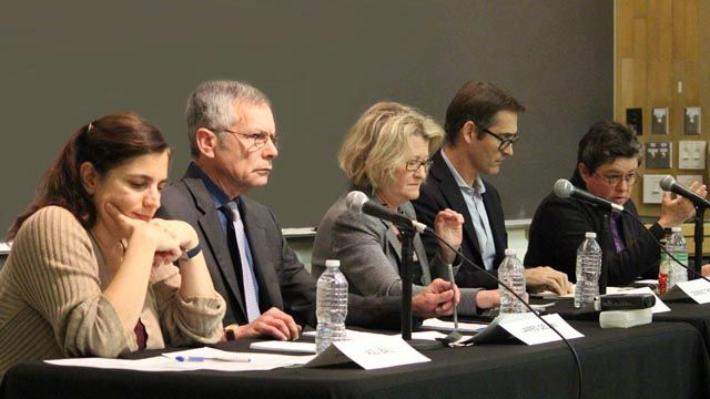 Panel of faculty experts on Paris attacks and ISIS