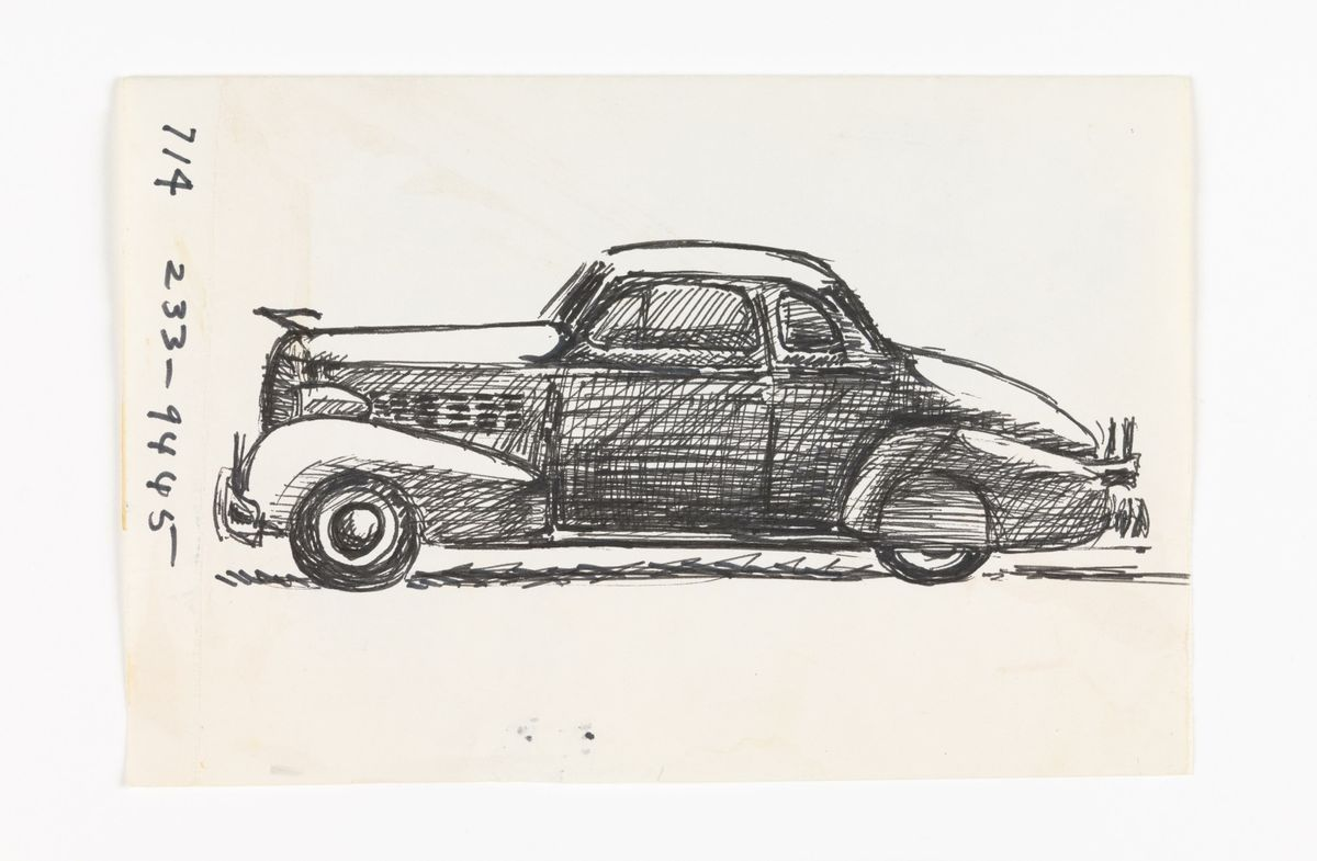 José Montoya car illustration