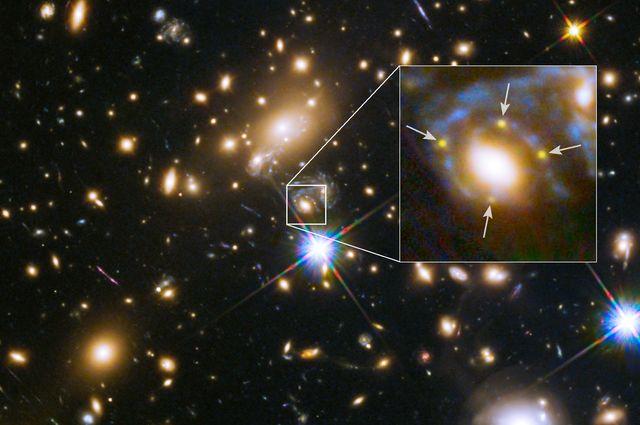 Supernova split