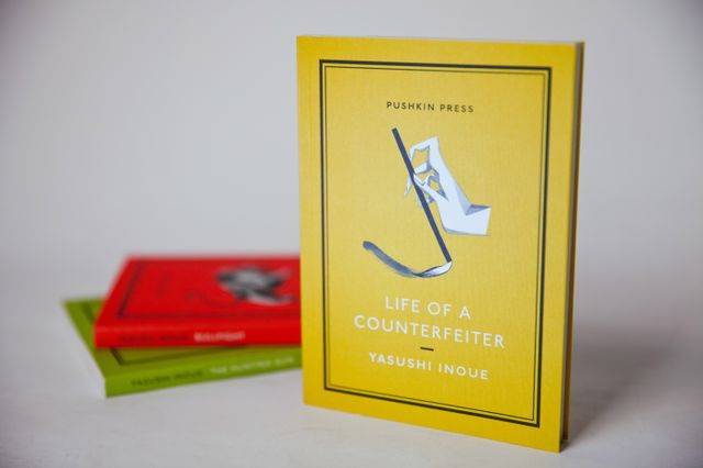 """""""Life of a Counterfeiter"""" cover"""